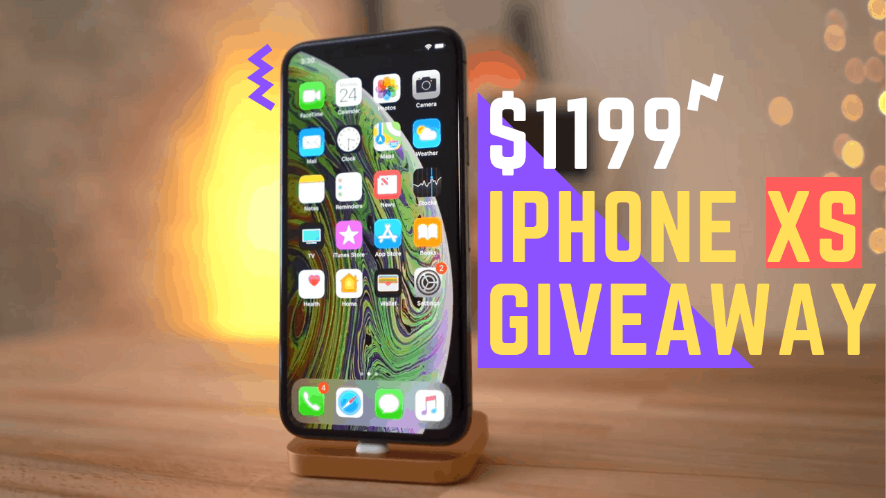 iPhone XS Giveaway Contest - Enter to Win an iPhone XS Free - Geotoko